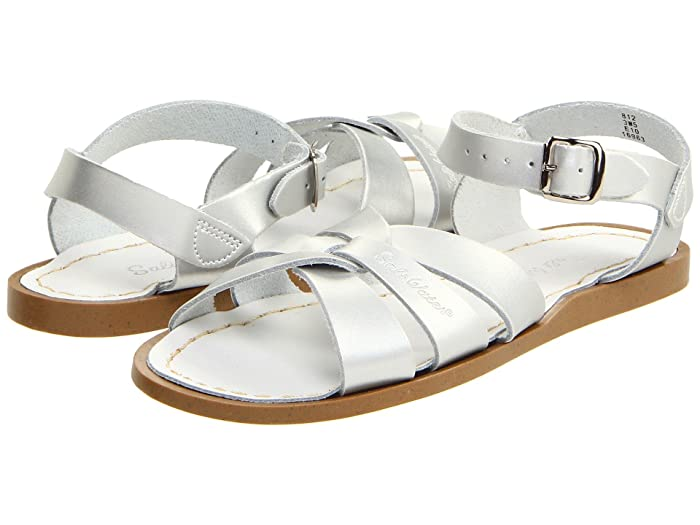 Salt Water Sandal by Hoy Shoes  The Original Sandal (Toddler/Little Kid) (Silver) Girls Shoes