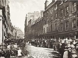 Annan Saint Margaret's Place Glasgow 1897 Photo Premium Wall Art Canvas Print 18X24 Inch 聖人写真壁