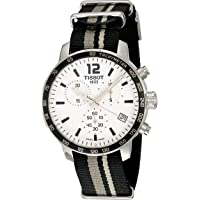 Tissot Men's Stainless Steel Quartz Watch with Nylon Strap