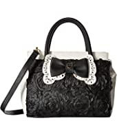 Betsey Johnson - Painted Floral Satchel