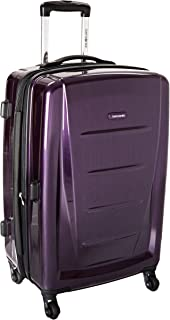 Winfield 2 Hardside Luggage, Purple, Checked-Medium