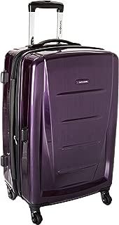 Samsonite Winfield 2 Fashion Hardside Spinner 24, Purple