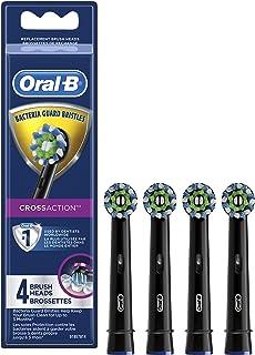 جایگزین مسواک برقی مسواک Oral-b Crossaction ، Refresh Head Refress برس ، مشکی ، 4 عدد