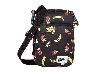 Nike Heritage Small Items Bag (Black/Black/Black) Cross Body Handbags