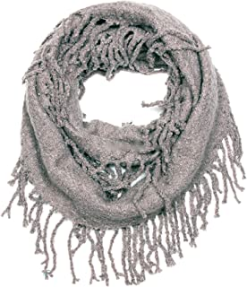 Solid Color Camel Soft Infinity Scarf
