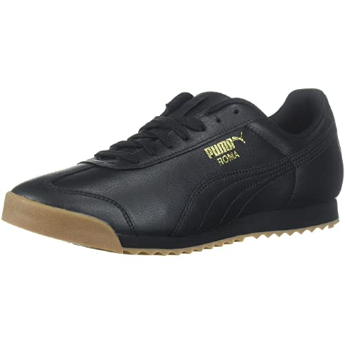 6a431c4a249681 Men s Black and Gold Sneakers  Amazon.com