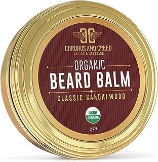Chronos And Creed - Sandalwood Beard Balm Certified Organic