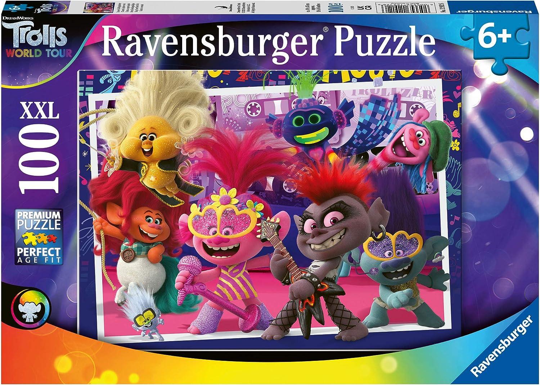 100% quality warranty Ravensburger 12912 Trolls 2 World Tour 100 with Phoenix Mall Jigsaw Ex Puzzle