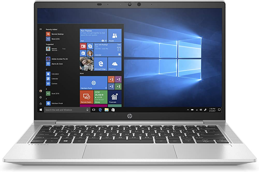 Hp - pc notebook amd ryzen 5 4500u ram 16 gb ssd 512 gb windows 10 pro lettore impronte digitali ProBook 635 Aero G7