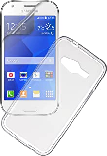 Pro-Tec TPU Protective Clip-On Case Cover and Screen Protector for Samsung Galaxy Ace 4 - Frosted/Clear