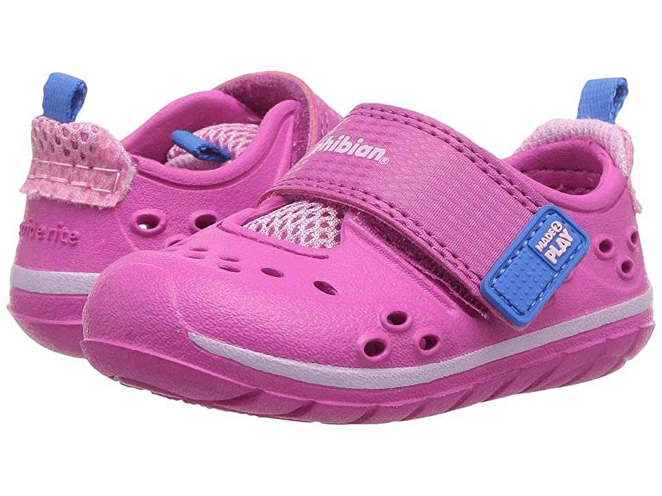 Stride Rite Made 2 Play Phibian (Infant/Toddler) (Pink) Girl