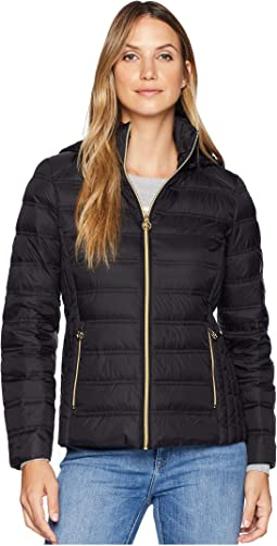 Michael Quilted Barn Jacket M420804a Clothing Women Shipped Free