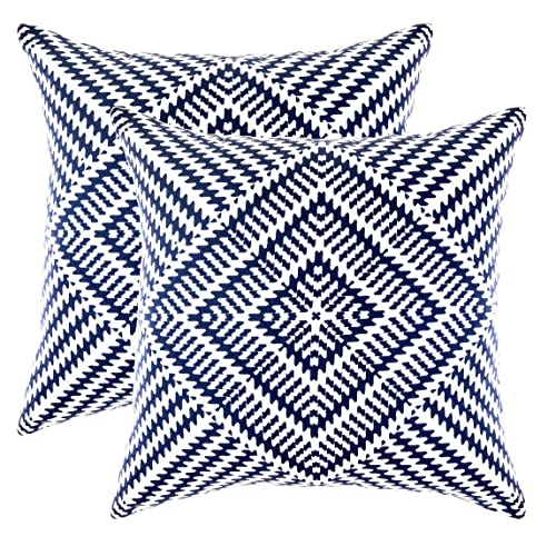 Navy Accent Pillows Amazoncom