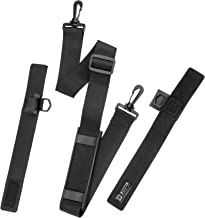 Booms Fishing RS4 Rod Carry Strap Sling Shoulder Belt, Black