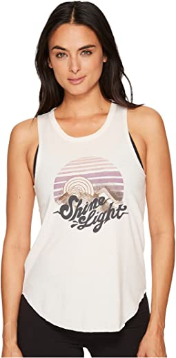 Spiritual Gangster - Shine Light Studio Tank Top