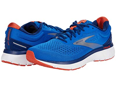 Brooks Trace (Blue/Navy/Orange) Men