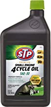 STP 4 Cycle Oil Formula, Engine Care for Lawnmower, Push Mower & Tractor, Bottles, 32 Fl Oz, 18589