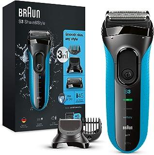 Braun Series 3 Proskin Shave&Style 3010BT, Afeitadora Eléctrica 3 en 1 Wet & Dry para Hombre con Recortadora de Precisión ...
