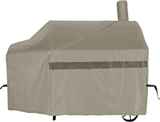 iCOVER 60 Inch 600D Heavy-Duty Premium Classic Outdoor Canvas BBQ Barbecue Off-Set Khaki..