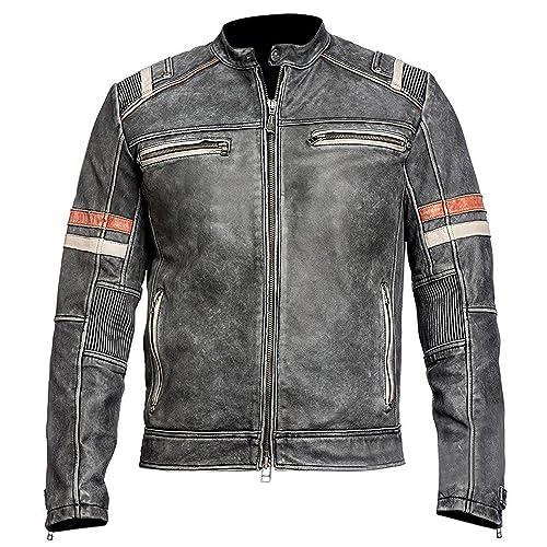 c61852827 Motorcycle Leather Jacket: Amazon.ca