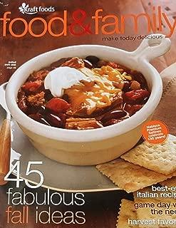 Krafts Food & Family Magazine (45 fabulous fall Ideas, Fall 2011)