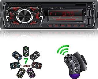 Hoidokly Autoradio Bluetooth, 4×60W Manos Libres Radio Estéreo de Coche, Apoyo de Reproductor MP3, Llamadas Manos Libres, ...