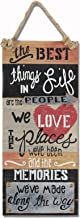 """Young's Inc 8.25""""x1.25""""x21.75"""" Wood Best Thing. Wall Sign"""