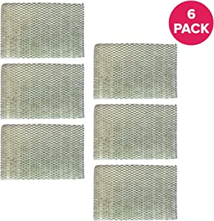 Crucial Air Humidifier Filter Replacement HWF100 Parts Compatible with Holmes Part # HWF-100 - Fits HM7204, HM7305, HM7305RC, HM7306, HM6000, HM6000RC, HM6600, HM6005HD, HM729, HM4600, HM630 (6 Pack)
