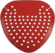 Krystal – KRY 1001 Boardwalk 1001 Urinal Screen, Cherry Fragrance, Red (Box of 12)