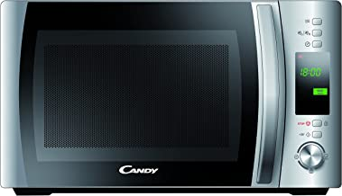 Candy CMWC 20 DS - Microondas, 20 l, 700 W, display digital, color plateado