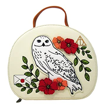Loungefly x Harry Potter Hedwig Floral Crossbody Purse
