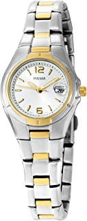 Pulsar Women's PXT638 Dress Sport Two-Tone Stainless Steel Watch