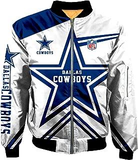 Football NFL Super Bowl Champions Jackets Mens Autumn Winter Outdoor Sports Big Size Outerwear Coats