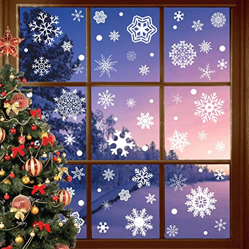 207D Christmas window stickers DIY Xmas New Year Decoration Wall Decal hotel sto