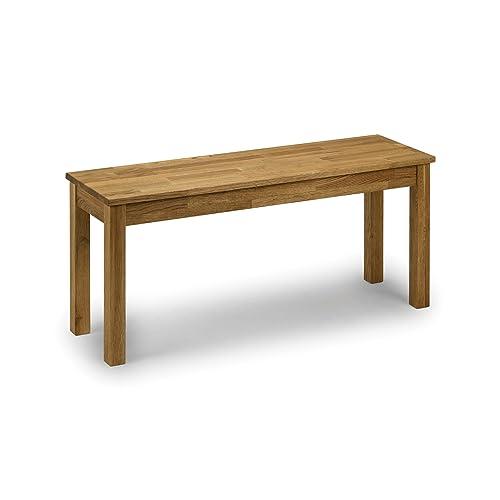 Julian Bowen Coxmoor Solid Oak Bench