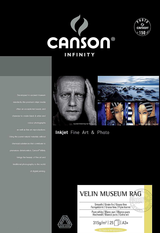 Canson 206111020 Velin Museum Rag Box, Photopapier, A3 B002RKNLXY    | Glücklicher Startpunkt
