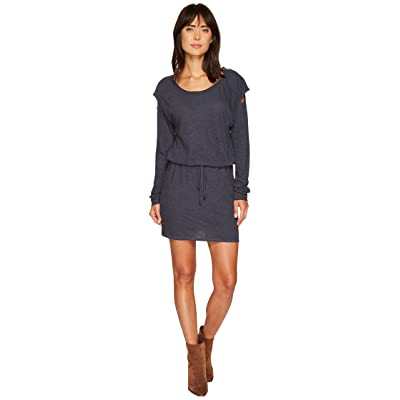 Lanston Drop Shoulder Cut Out Mini Dress (Steel) Women