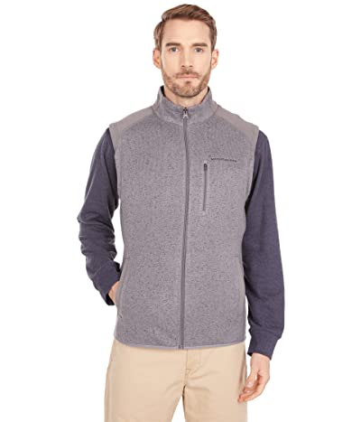Southern Tide Leadline Vest (Heather Gunmetal) Men