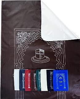 Lot of 14 Pockets Prayer Rug Mat Travel Portable Islamic Muslim Eid Ramadan Gift Outdoor Musallah Pads Carpet Outing Picnic Salah