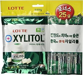 Lotte Xylitol Applemint Chewing Gum 4.4oz 112g (87g plus bonus 25g)