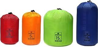 [MOCAL] スタッフバッグ 超軽量・撥水・4種セット(3L/5L/10L/15L)