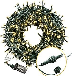Bestalent Christmas String Lights 300 LED 105ft,Warm White Light