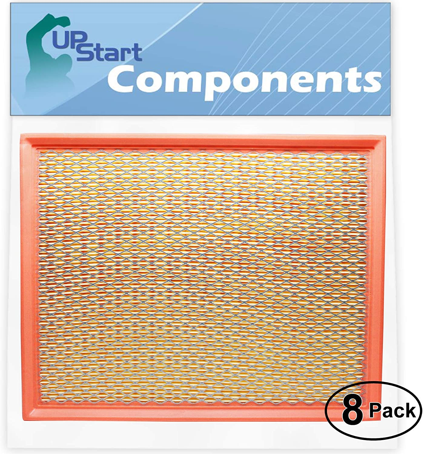 8-Pack Replacement Engine Air Filter 2017 New 100% quality warranty! Free Shipping for Silverad Chevrolet