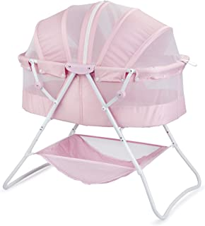 Big Oshi Emma Newborn Baby Bassinet – Portable Bassinet for Boys or Girls –..