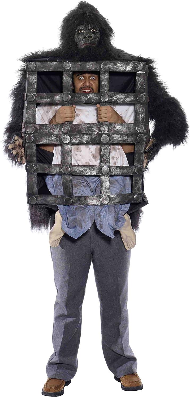 Forum Novelties Men's Gorilla with Cage