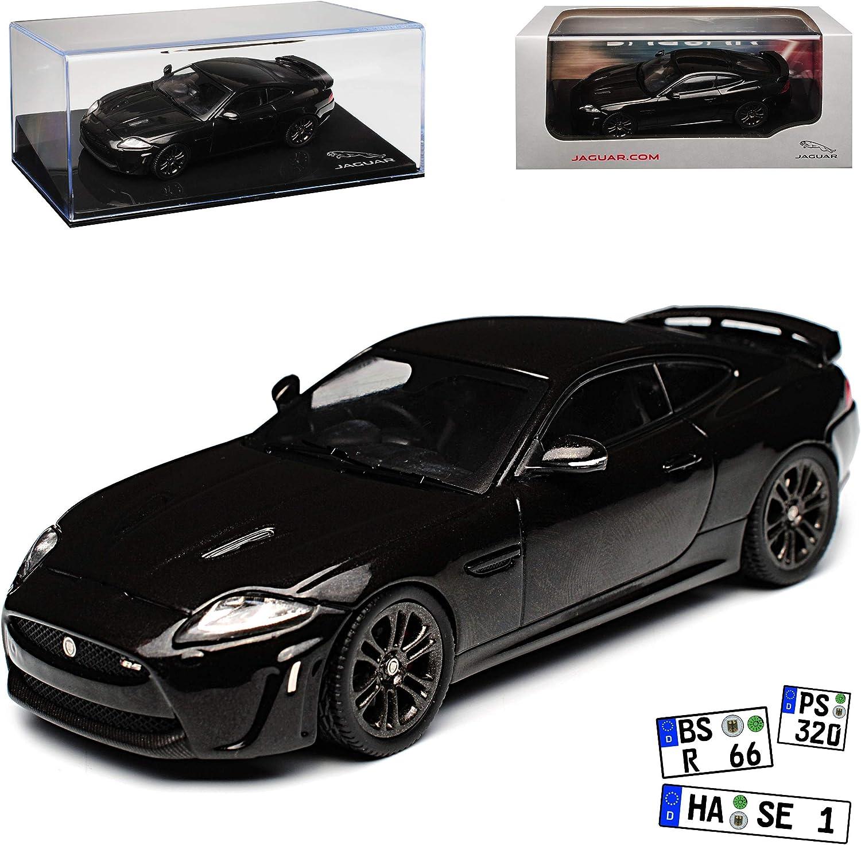 Jaguar XK XKR-S X150 Coupe Schwarz 2006-2014 1 43 PremiumX Modell Auto mit individiuellem Wunschkennzeichen B07NPGBNKR Angemessener Preis  | Die Farbe ist sehr auffällig