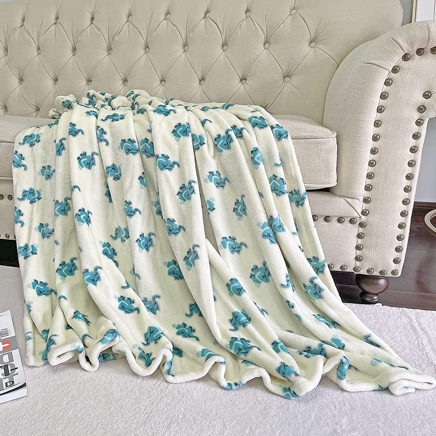 Outlet ☆ Free Shipping BT.WA Kids Blanket Flannel Throw T Sale Special Price for Soft Baby