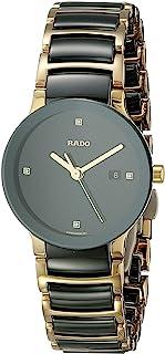 Women's R30930712 Centric Jubile Two Tone Black Ceramic Bracelet Watch
