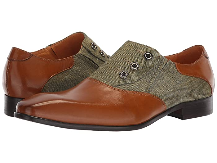 Stacy Adams Men's Victorian Boots and Shoes Carrucci Date Night Cognac Mens Shoes $66.00 AT vintagedancer.com