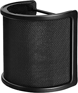 Pop Filter,PEMOTech [Upgraded Three Layers] Metal Mesh &...